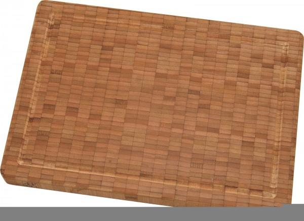Schneidebrett, Bambus, mittel 36x25.5x3 cm
