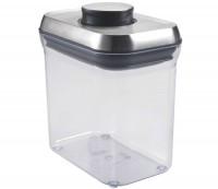 Steel Pop Container, rechteckig, 15.7x10.7x10.7 cm, 1.4 l