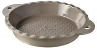 Tarteform rund in GB, Ø 26 cm, H: 4.5 cm, Sesam-grau