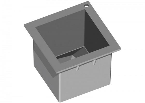 Elastomoule Backform Würfel 6.5x6.5cm m.umgekehrter Pyramide