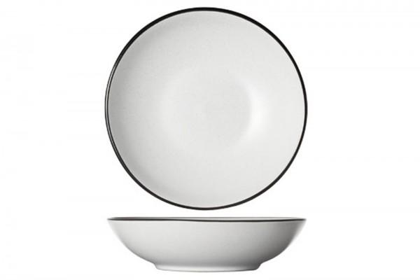 Speckle weiss, Suppenteller, Ø 20 x 5.3 cm