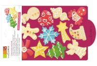 Cookie Cutter Multi, Weihnachten 32x20 cm