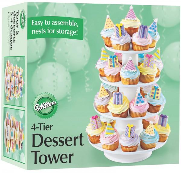 Cupcake Ständer Dessert Tower, 30x41 cm