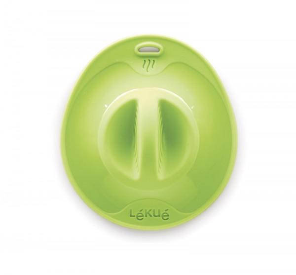 Silikondeckel, grün 17 cm