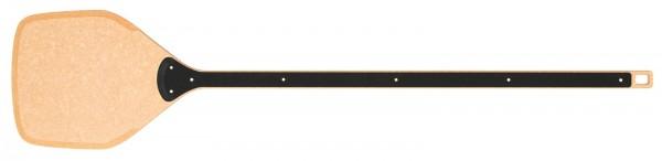 Pizzaschaufel m. langem Stil, natur/schwarz, 141x30.5 cm