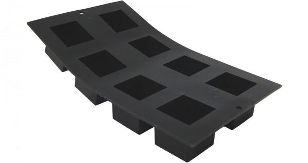 Moul Flex Backform 17.5x30cm für 8 Würfel