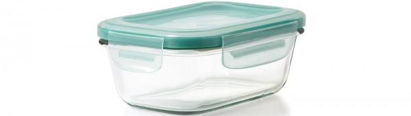 SNAP Glas Vorratsbehälter, rechteckig, 384 ml