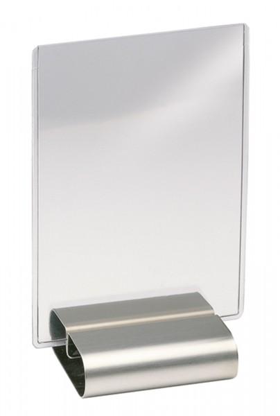 2. Stk. Speise-und Eiskartenständer im Polybeutel, 8x7.5x2.5