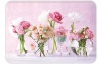 Flowers at Home Tablett 21x15 cm