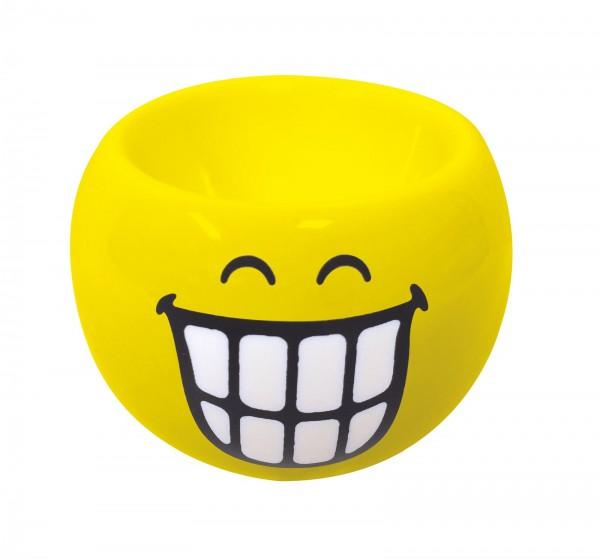 Smiley Eierbecher Emoticon breites Grinsen, Ø 6cm