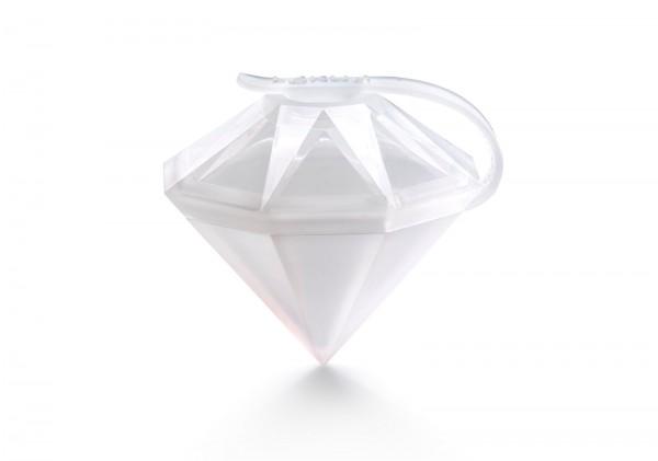 Eiskristall Diamant weiss