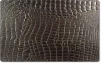 Tischset eckig braun Kroko 31x41cm