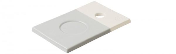 Color Lab Tablett rechteckig, 14x9x0.8 cm, grau
