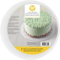 Kuchenplatte aus Kunststoff, Ø25cm
