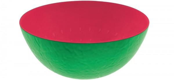 Duo Schüssel Wassermelone grün/grapefruit 24 cm