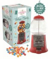 "Roter Kaugummi Automat ""Vintage Candy"", H: 28 cm"