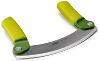 Mezzaluna Messerwiege grün