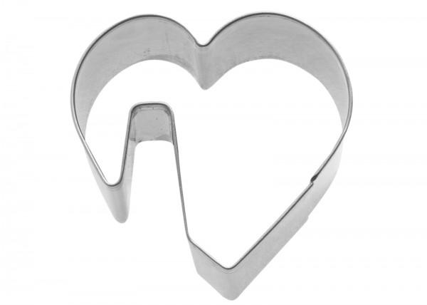 """Tassenkeks-Ausstechform """"Herz"""", 5 cm"""