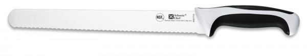 Atlantic Chef Fleischmesser mit Wellenschliff 28cm weiss