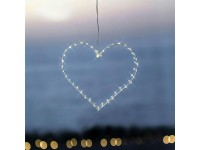 Sirius LED Herz Liva klein weiss