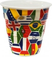 Cappuccino Knitterbecher 18 cl, Crinkle Cup Weltmeisterschaft