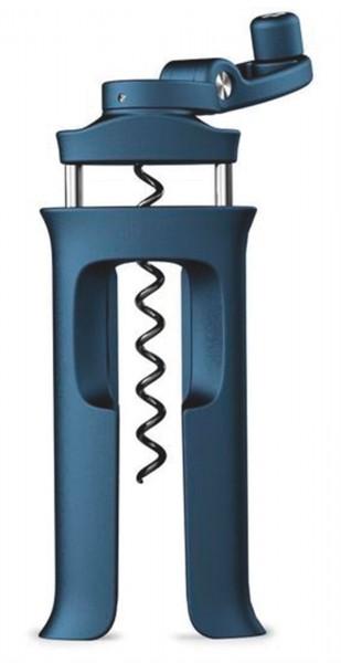 BarWise Korkenzieher, blau, 6x13.5x3 cm