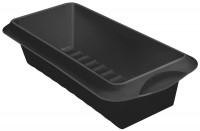 Backform Cakeform schwarz, 24x10x7 cm