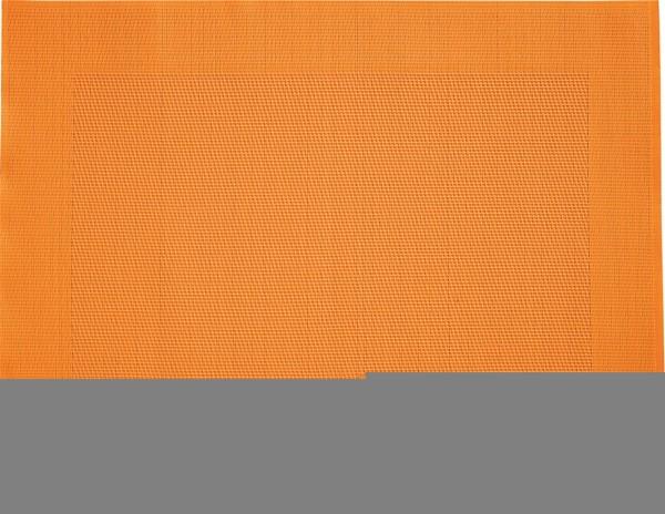 """Tischset """"Rahmen"""", eckig, orange, 32x42 cm"""