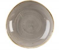 Stonecast Grau Teller tief 25.3cm