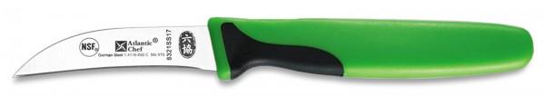 Atlantic Chef Pariermesser gebogen 7cm grün