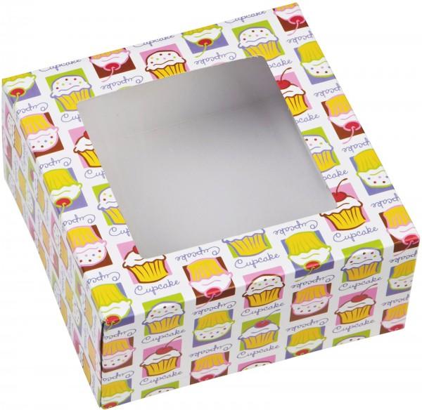 Cupcake Box für 4 Stück, Cupcake Heaven