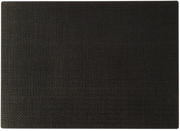 """PP-Tischset """"Coolorista"""", eckig, schwarz, 45x32.5 cm"""