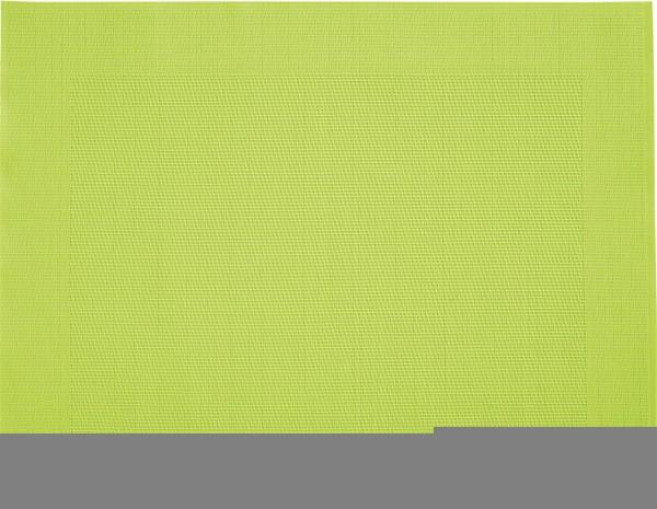 "Tischset ""Rahmen"", eckig, hellgrün, 32x42 cm"