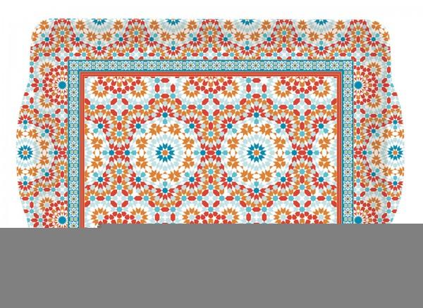 Granada Tablett m. Griffen 33x22 cm