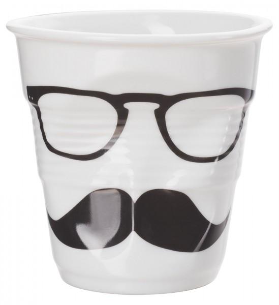 Cappuccino Knitterbecher 18 cl, Monsieur