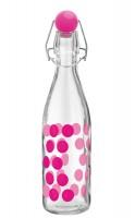 Dot Dot Glasflasche fuchsia, 1 lt