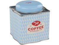 Kaffedose, blau
