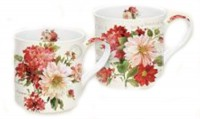 Season Flowers Porzellanbecher 350 ml 2er Set in GB