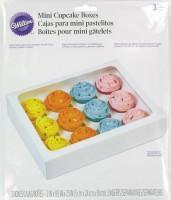 Cupcake Box mini weiss, 24x19x5cm