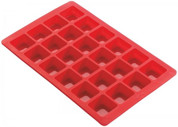 Backform rot Mini Brownies für 24 Stk.
