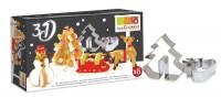 """3D Ausstecher Set """"Christmas"""""""